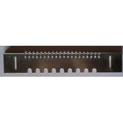 Porte réversible 160 x 45 mm