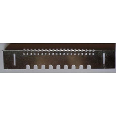 Porte réversible 160 x 35 mm