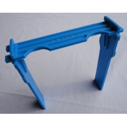 Cadron pour ruchette Apidea en PVC bleu