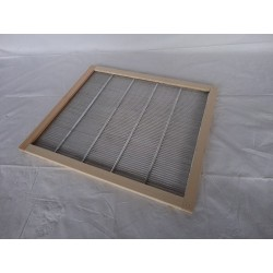 Escudiregina a griglia metalo/ legno per arnia Apivalais DB10