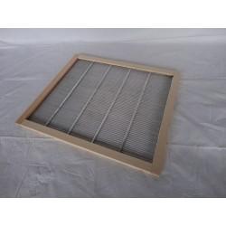 Escudiregina a griglia metalo/ legno per arnia DB12