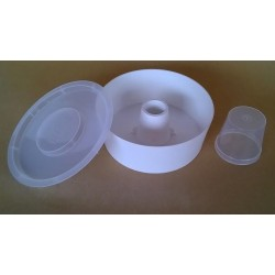 Nutritore rotondo in plastica 3.5 chili