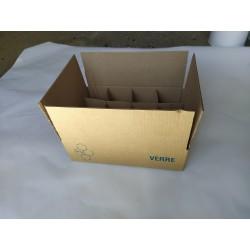 Carton d\'emballage pour 12 pots de 250 gr