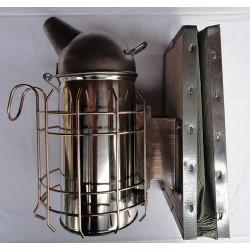Affumicatore inox 80 mm con protezione