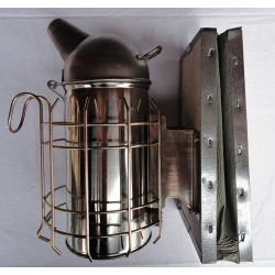 Enfumoir en métal inox 80 mm, avec protection