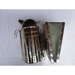 Enfumoir inox 100 mm avec protection