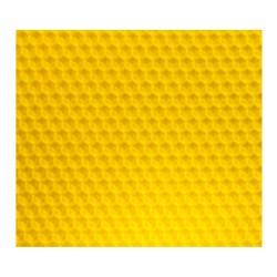 Cadre de corps de ruche dadant avec cire gaufrée