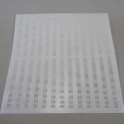 Rete per la raccolta propoli in plastica DB12, 50 x 50 cm