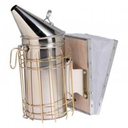Affumicatore inox di typo américano 100 mm con protezione