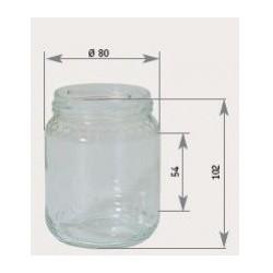 Vasetto in vetro di 500 gr