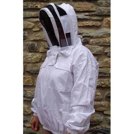 Blouson de protection contre les abeilles de type anglais, taille XL