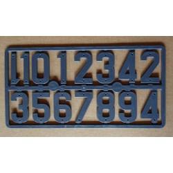 Chifre per segnare le arnie, altezza 4,2 cm